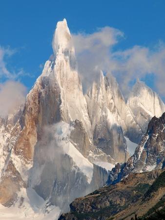 los glaciares: Cerro Torre in n Parco Nazionale Los Glaciares, in Argentina