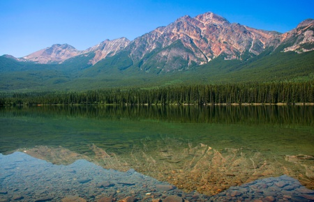 Beautiful nature landscape in Banff, National Park, Alberta, Canada photo