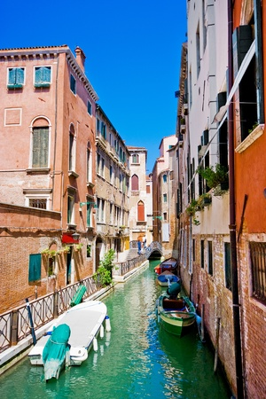 Beautiful alley in Venice, Italy Stock Photo - 11695092