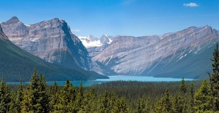 Beautiful nature landscape in Banff National Park, Alberta, Canada photo