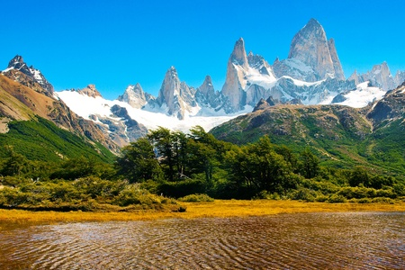 Beautiful Nature Landscape in Los Glaciares National Park, Patagonia, Argentina. Stock Photo - 11695097