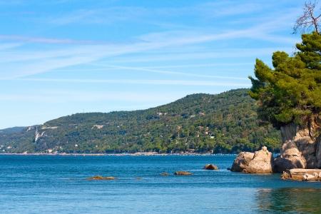 Scenic Adriatic coastal landscape in Veneto, Italy photo
