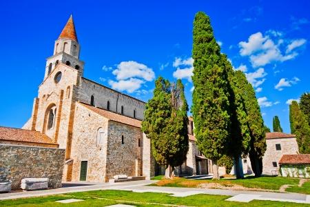 santa maria: Famous Basilica di Santa Maria Assunta in Aquileia, Italy