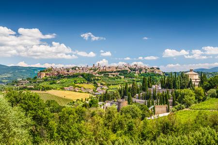Ville historique d'Orvieto, Ombrie, Italie