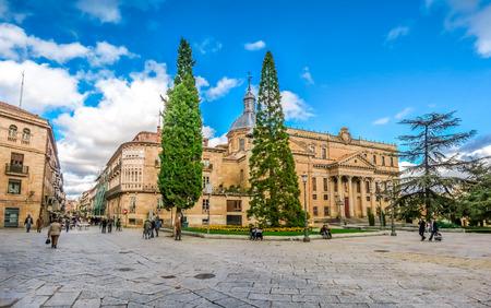 castilla y leon: City centre of Salamanca, Castilla y Leon region, Spain
