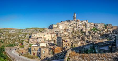 matera: Ancient town of Matera (Sassi di Matera), Basilicata, southern Italy Stock Photo