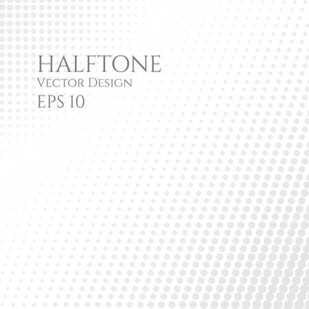 Halftone art style abstract dots design clean tone. vector illustration 일러스트