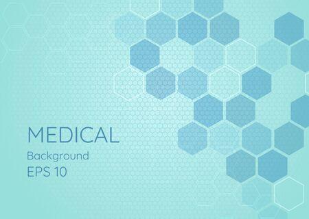 Medical background clean design geometric modern style. vector illustration Ilustracja