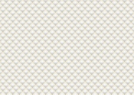 White pattern square shape gold metallic design overlap layer style luxury concept. vector illustration.