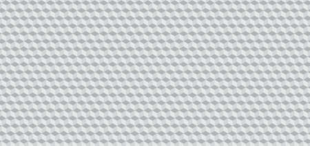 Square shape 3d pattern desgin realistic concept white color style abstract background. vector illustration. Иллюстрация
