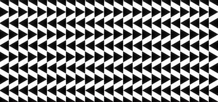 Triangle shape pattern overlap style white and black color flat design. vector illustration. Иллюстрация