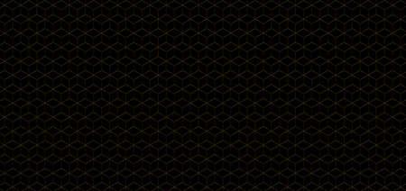 Luxury gold cube pattern background premium design. vector illustration.