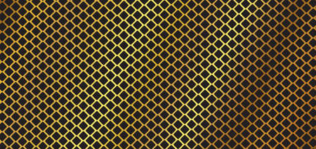 Square pattern gold luxury design abstract background. vector illustration. Иллюстрация