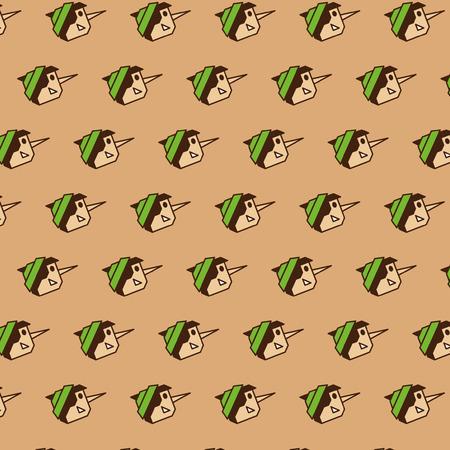pinocchio: pinocchio pattern Illustration