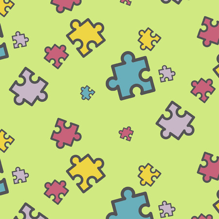 perforated: Puzzles pattern