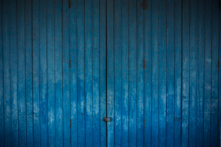 blue background abstract: vintage wooden blue background