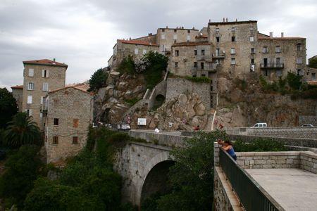 Old town on Corsica - Sartene Stock Photo - 826619