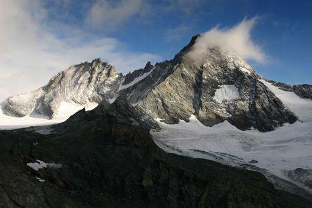 The Alps - Grossglockner, highest mountain in Austria photo