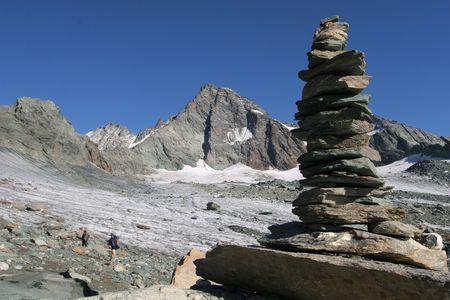 Mountain view - The Alps photo