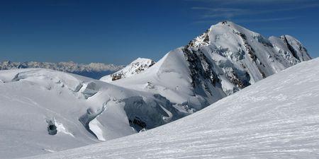 wallis: The Wallis Alps - Liskamm