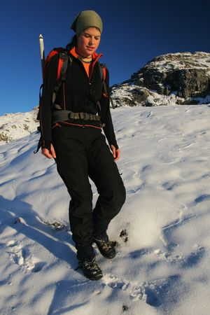 exacting: Winter hiking