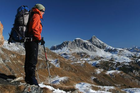 exacting: Mountain trekking