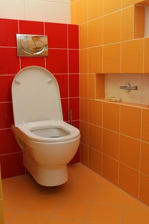 Toilet Reklamní fotografie