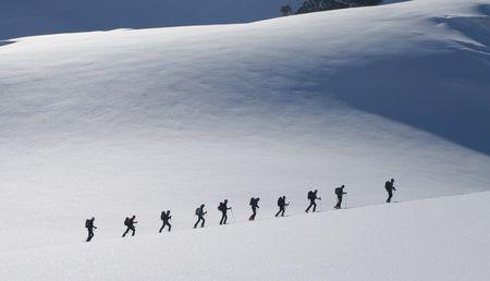 Ski touring photo