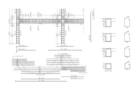 armature: Construction drawing, concrete armature