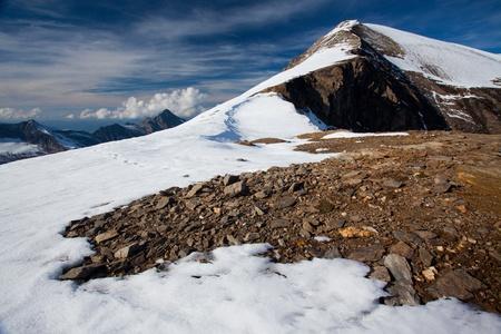 hohe tauern: Summit in Hohe Tauern National Park in Austria