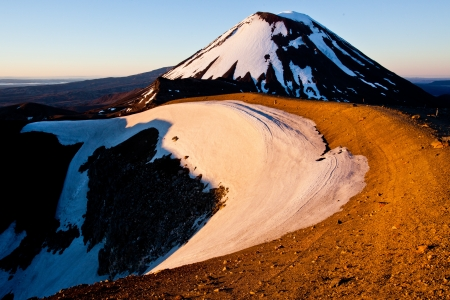 doom: Mount Ngauruhoe aka Mount Doom in Tongariro NP, New Zealand