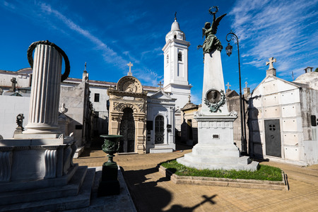 aires: Famous Recoleta Cemetery in Buenos Aires, Argentina