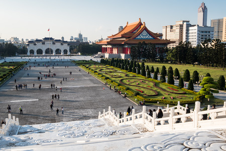 Chiang Kai-shek memorial in Taipei, Taiwan