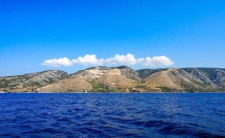 croatian: Croatian Island Landscape, Mediterranean sea