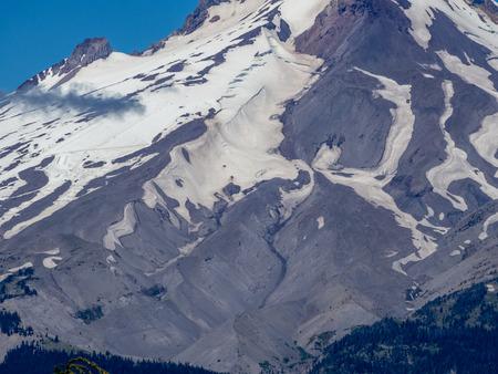 Portland, Oregon, USA - July 2018: Mount Hood National Forest, Frog Lake View