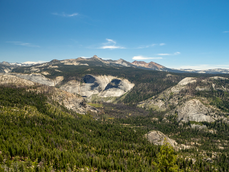 Yosemite valley national park, mountain nature, California, USA