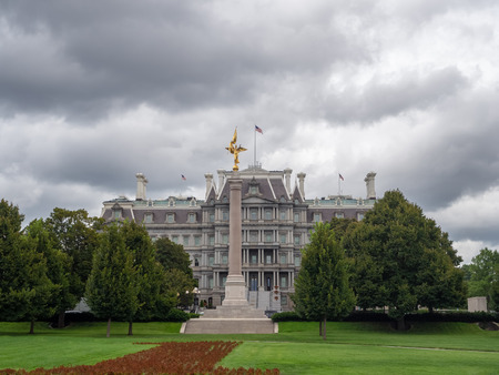 Washington DC, District of Columbia, Summer 2018 [United States US, Old Eisenhower Executive Office Government Building, General Services Administration, Executive Office of the President and Vice President ] Editorial