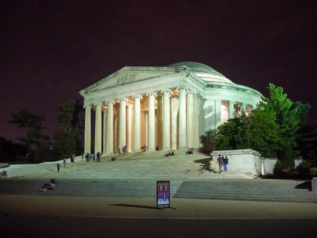 Washington DC, District of Columbia, Summer 2018 [United States US, Thomas Jefferson Memorial, American Founding Fathers, Declaration of independance] Editorial