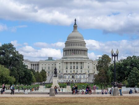 Washington DC, District of Columbia [United States US Capitol Building, architecture detail]