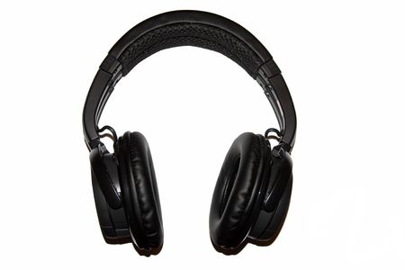 A wireless headset for cell phone or computer Bluetooth Banco de Imagens