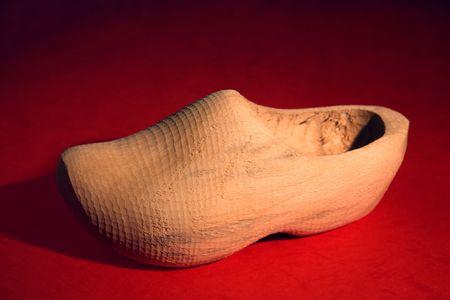 dutch: Handmade Dutch wooden shoe from Holland