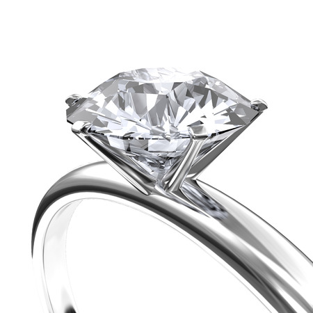 Image diamond ring Stock Photo