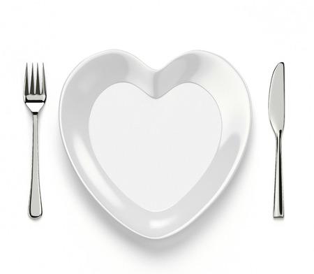 heart shaped dish