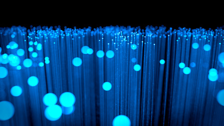 Background: fiber optic