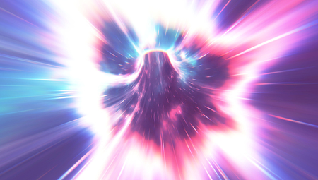 Psychedelic Wormhole Stok Fotoğraf