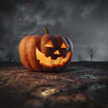 Halloween Pumpkin Stok Fotoğraf