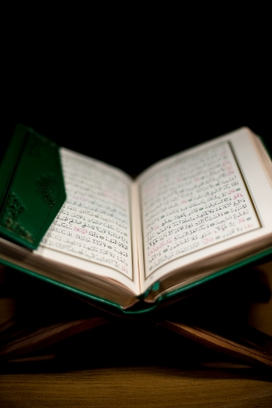 pages of holy koran the testament photo