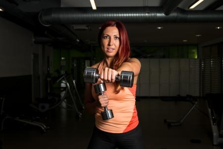 cardiovascular exercising: Fitness Female Stock Photo