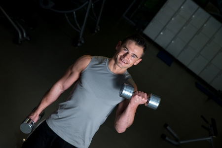 cardiovascular exercising: Dumbbell training