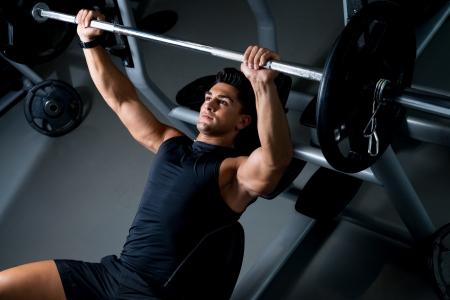 Lifting weights photo